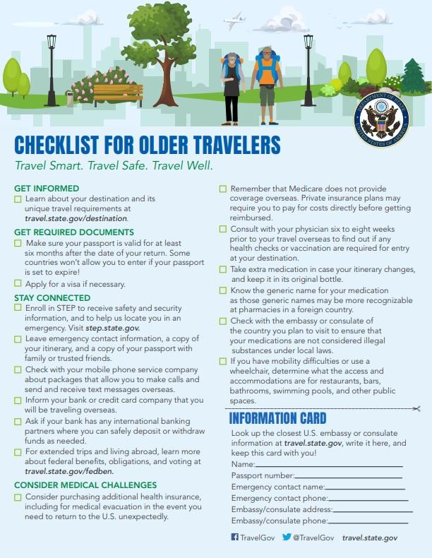 checklistforolder